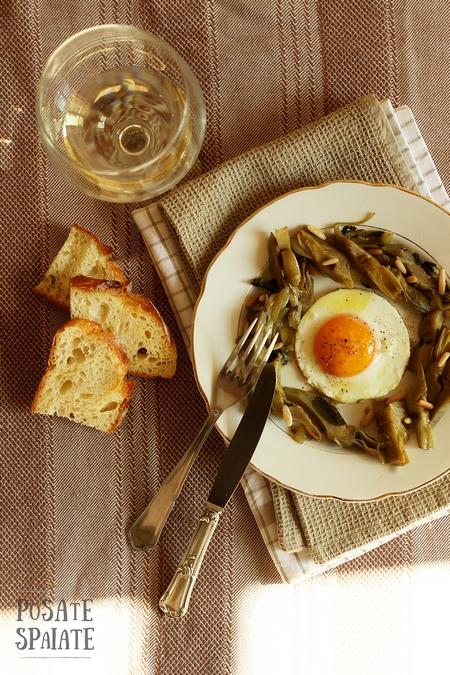 6 I carciofi con l'uovo 1f