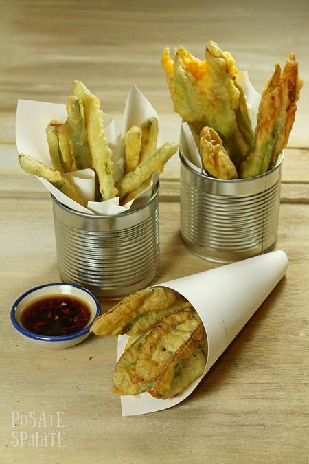 Salvia zucchine e fiori fritti_Posate spaiate