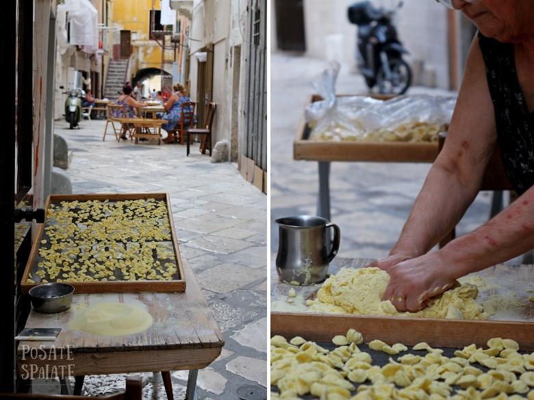 Puglia Orecchiette a Bari - Posate Spaiate