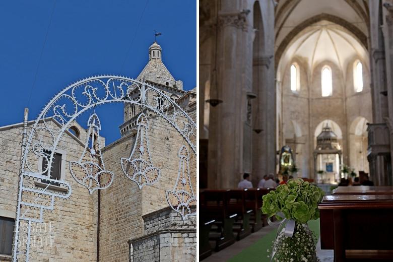 Puglia cattedrale di Barletta - Posate Spaiate