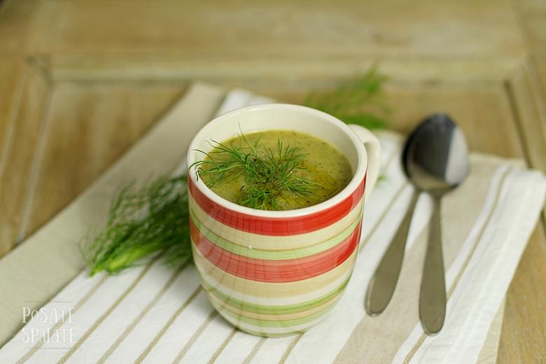 Crema Verde di sedano e finocchi_Posate Spaiate