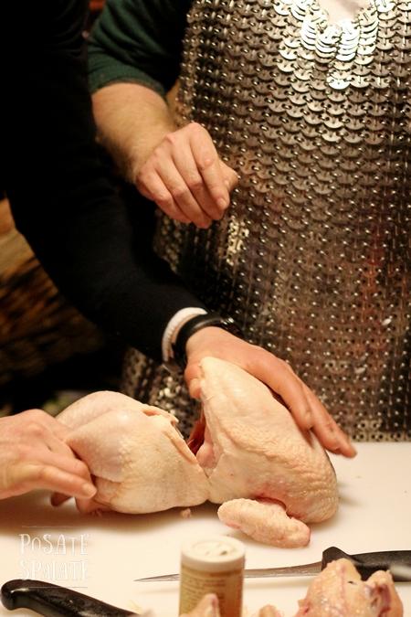 Bondage chicken ai Bagni Municipali - Posate Spaiate