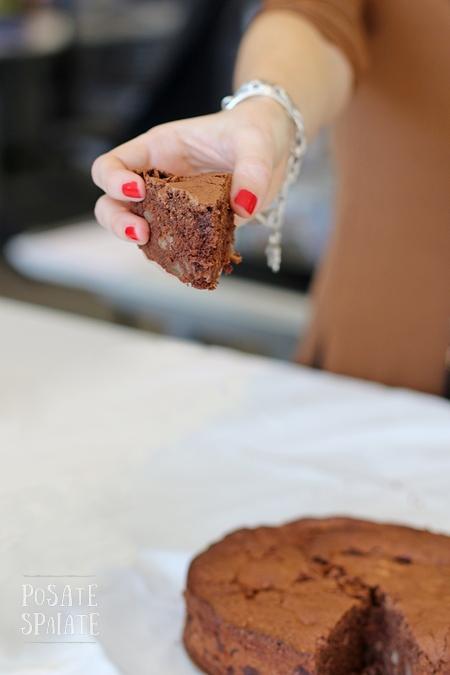 Torta Pere e Cioccolato_Posate Spaiate