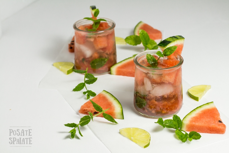 Il mojito all'anguria