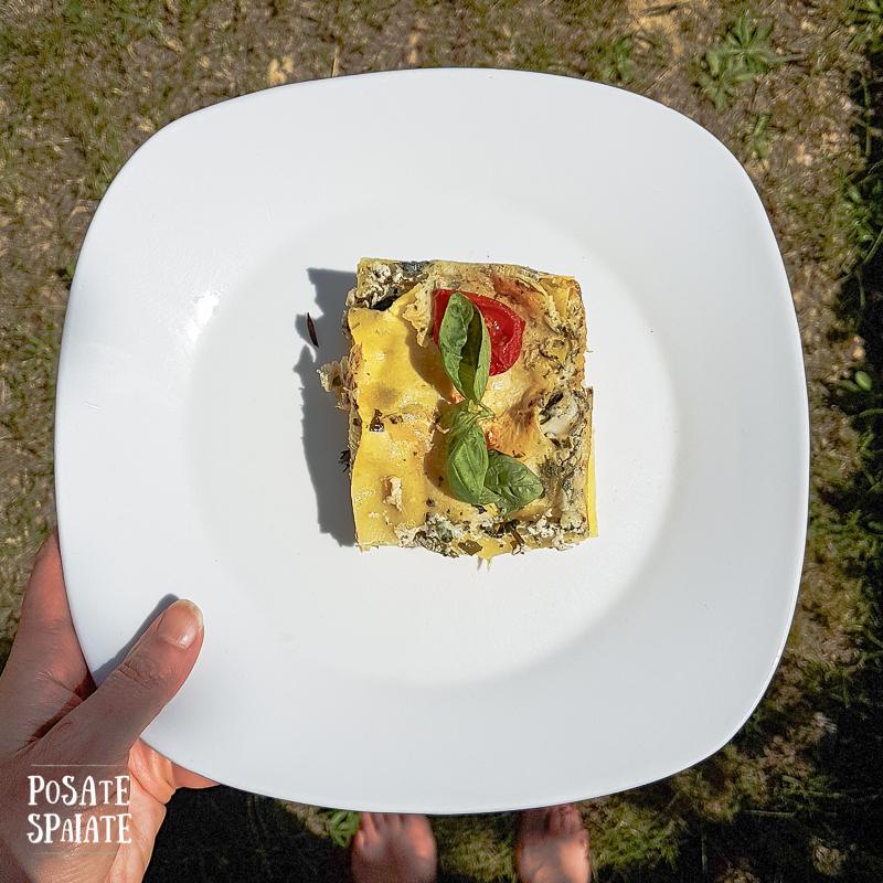 Lasagne alle erbette_Posate Spaiate