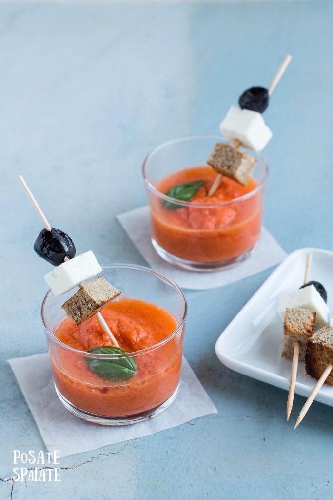 Gazpacho all'anguria_Posate Spaiate