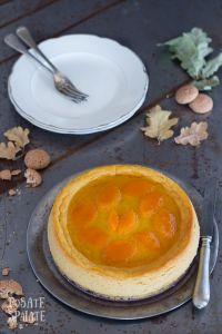 Cheesecake con zucca e amaretti_Posate-Spaiate