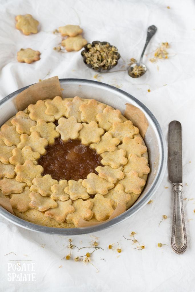 Crostata senza burro mais e camomilla_Posate Spaiate