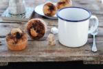 Muffin al caffè, con yogurt e senza burro