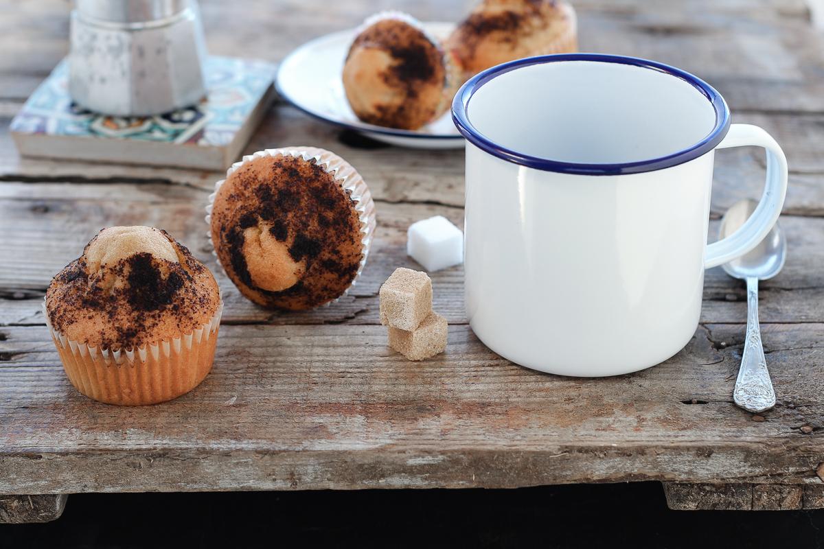 Muffin al caffè_Posate Spaiate