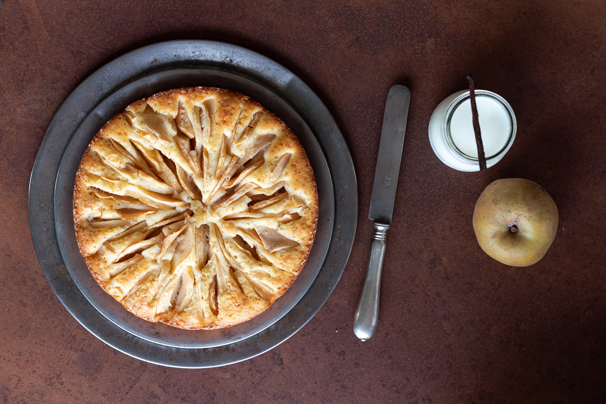 Torta mele vaniglia_Posate-Spaiate