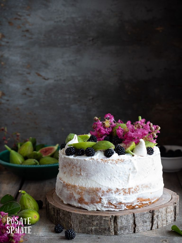 Chiffon cake farcita_Posate Spaiate
