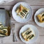 Lasagne agli asparagi {con cottura veloce}