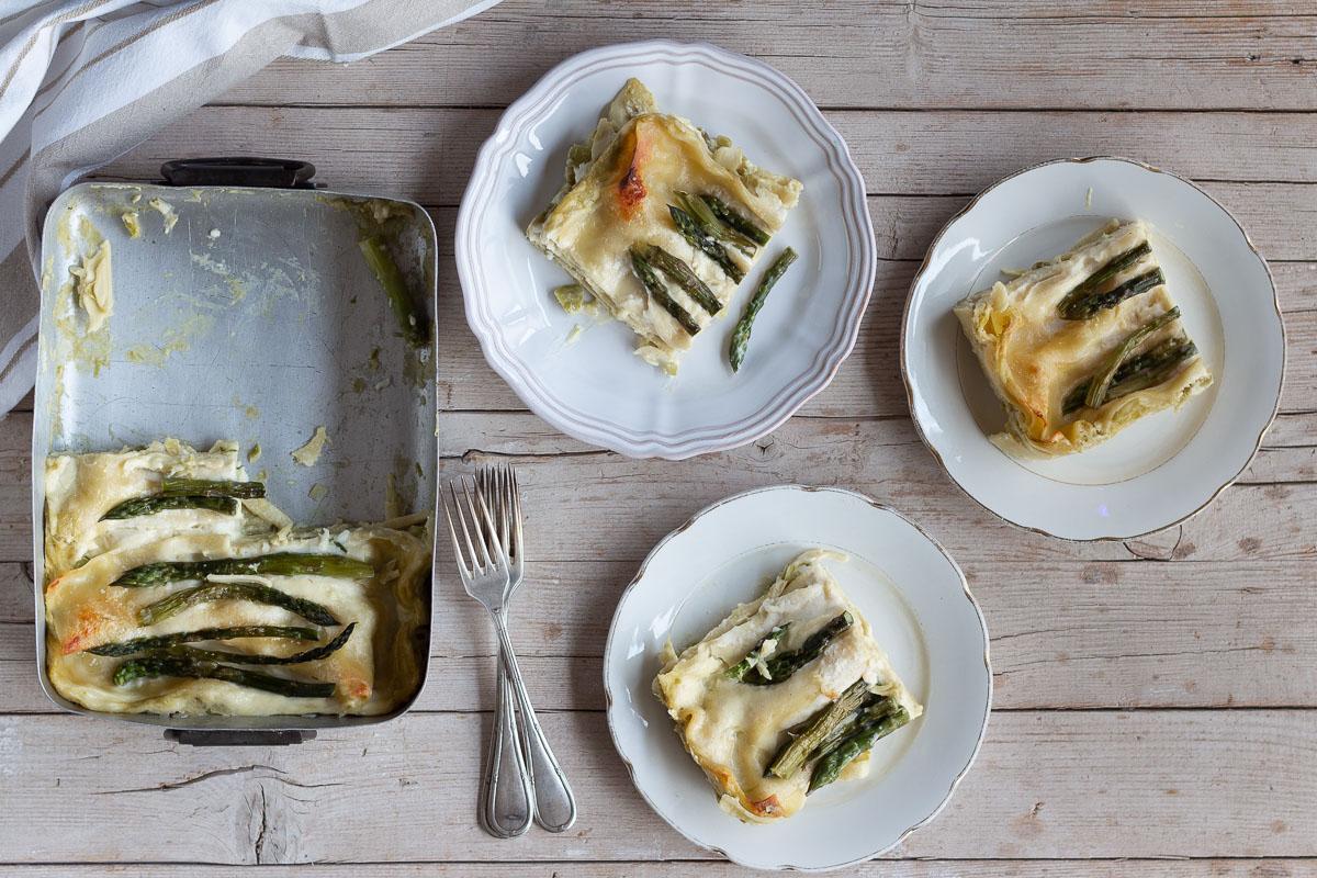 Lasagne agli asparagi_Posate Spaiate