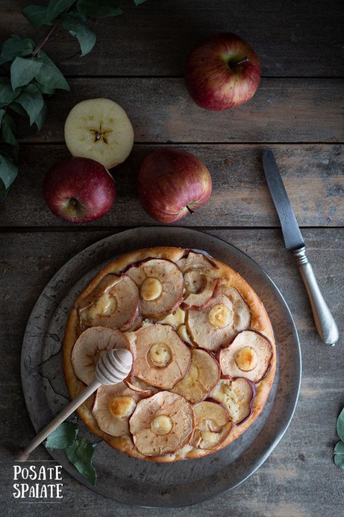 Torta di mele soffice_Posate Spaiate