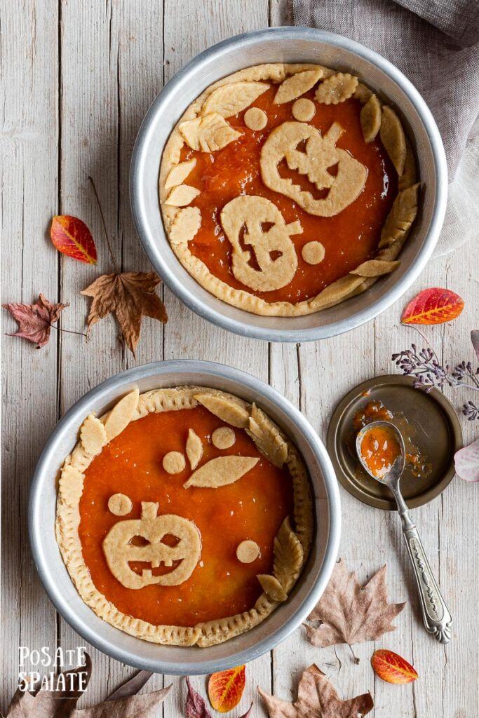 Crostata di Halloween senza burro_PosateSpaiate